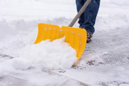 Schneeräumen Pflicht